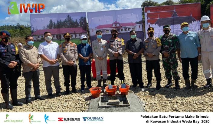 Pt Iwip Support Dibangunnya Mako Brimob Di Kabupaten Halmahera Tengah Harian Halmahera
